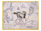The Constellation of Aries by James Thornhill Giclee Print by Stapleton Collection
