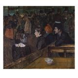 Bailarina del Moulin de la Galette Lámina giclée por Henri de Toulouse-Lautrec