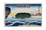 Clearing Weather, Enoshima from the Series Eight Views of Famous Places Giclee Print by Toyokuni II