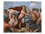 Detail of Mythological Figures from Galatea Giclee Print by  Raphael