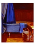 Clawfoot Tub Giclee Print by Pam Ingalls