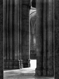 Columns of York Cathedral Photographic Print
