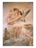 Cupid and Psyche Reproduction procédé giclée par Lionel Noel Royer