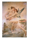 Cupid and Psyche Giclee Print by Lionel Noel Royer