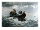 Crab Fishing Giclee Print by Winslow Homer