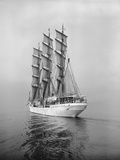Danish Schooner Danmark Photographic Print by Ray Krantz