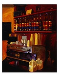 Coffee Station Giclee Print by Pam Ingalls