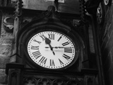 Clock of Town Hall Photographic Print