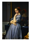 Comtesse d'Haussonville Premium Giclee Print by Jean-Auguste-Dominique Ingres
