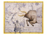 The Constellation of Taurus the Bull and Orion by James Thornhill Giclee Print by Stapleton Collection 