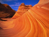 Coyote Butte's Sandstone Stripes Photographic Print by Joseph Sohm
