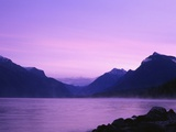 Dawn at Lake McDonald Photographic Print