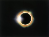 Sonnenfinsternis mit Diamantring-Effekt Fotografie-Druck von Roger Ressmeyer