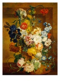 Floral Still Life Giclee Print by Jan van Os