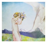 Flora Alpina Giclee Print by Edward Reginald Frampton
