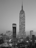 Empire State Building at Night Photographic Print by GE Kidder Smith