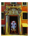 Ferrara Portal Giclee Print by Pam Ingalls