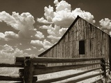 Fence and Barn Photographic Print by Aaron Horowitz