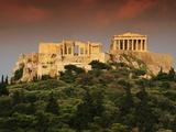 The Acropolis Fotografisk tryk af Reed Kaestner
