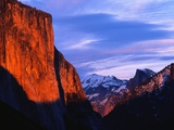 El Capitan at Sunset Photographic Print by Bob Jacobson
