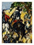 Don Quixote, Back View Giclee Print by Paul Cézanne