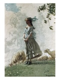 Fresh Air Giclee Print by Winslow Homer