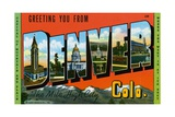 Greeting Card from Denver Giclee Print
