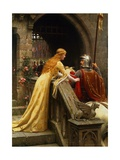 God Speed Gicleetryck av Edmund Blair Leighton