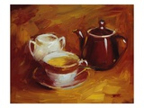 Full Circle (Tea) Giclee Print by Pam Ingalls