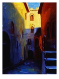 Gomici Castle Giclee Print by Pam Ingalls