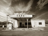 Gas Station and Cafe Photographic Print by Aaron Horowitz