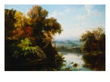 Indian Summer Giclee Print by Regis Francois Gignoux