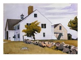 House at Essex, Massachusetts Giclee Print by Edward Hopper