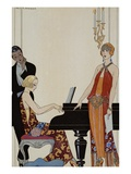 Incantation Giclee Print by George Barbier