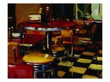 Hamburger Joint Giclee Print by Pam Ingalls