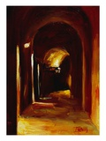 Interior Arches in Perugia Giclee Print by Pam Ingalls