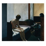 Hotel Room Gicle-tryk af Edward Hopper