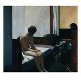 Hotel Room Giclée-tryk af Edward Hopper