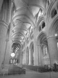 Interior of Durham Cathedral Photographic Print by GE Kidder Smith