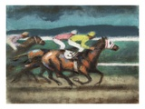 Horse Race No.12 Giclee Print by Robert McIntosh