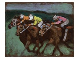 Horse Race No.5 Giclee Print by Robert McIntosh