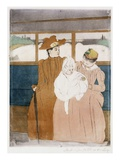 In the Omnibus Giclee Print by Mary Cassatt