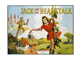 Jack and the Beanstalk Color Print Giclee Print