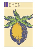 Lemon Giclee Print by  Steve Collier Studio