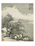 Landscape: Winter Giclee Print by Cai Jia