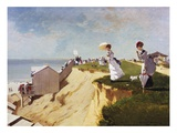 Long Branch, New Jersey Stampa giclée di Winslow Homer