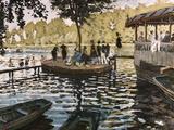 La Grenouillere Giclee Print by Claude Monet