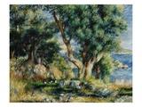 Landscape near Menton Giclee Print by Pierre-Auguste Renoir