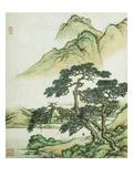 Cai Jia - Landscape Digitálně vytištěná reprodukce