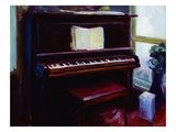 Joan's Piano Giclee Print by Pam Ingalls